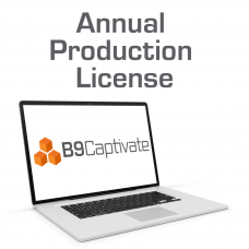 B9Captivate Professional - Annual Production License
