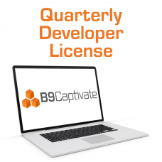 B9Captivate Professional - Quarterly Developer License