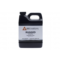 Black Rugged - Nylon 6 Engineering-Grade 3D Printing Resin